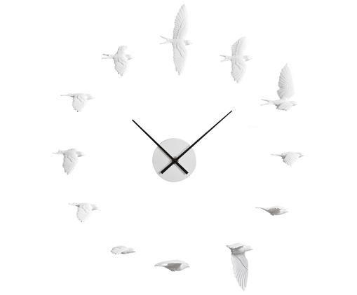 Zegar ścienny Swallow, Zegar: biały Wskazówki: czarny