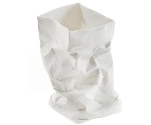 Windlicht Paperbag, Wit