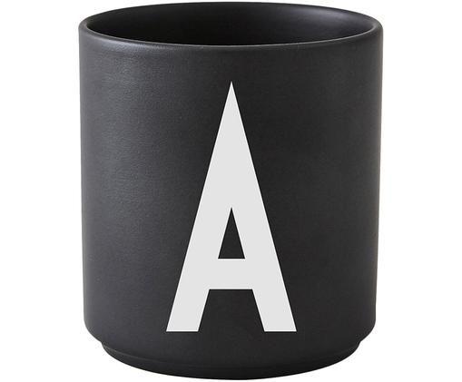 Pohárek Personal (varianty od A do Z), Matná černá, bílá