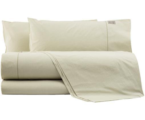 Completo letto Stripes, Verde, verde chiaro