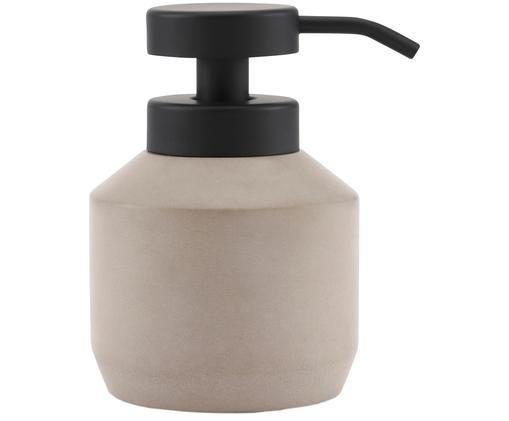 Dozownik do mydła Concrete, Greige, czarny