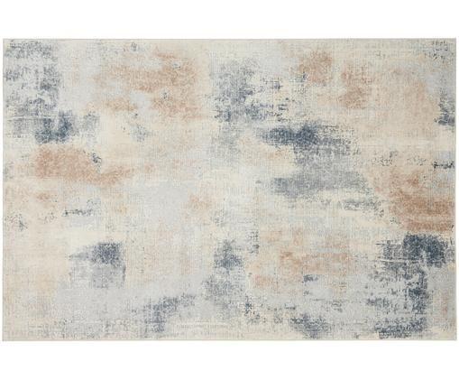 Alfombra Rustic Textures II, Tonos beige, gris