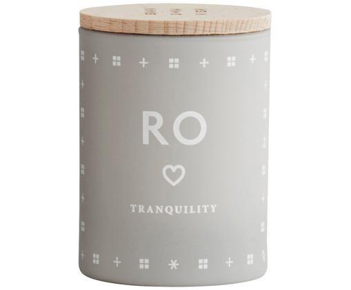 Bougie parfumée Ro (herbe fraîche), Gris clair