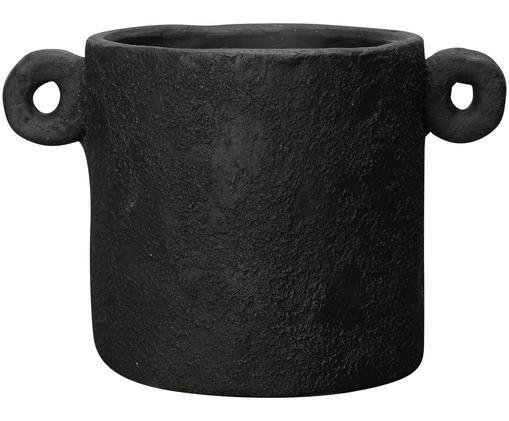 Cache-pot Charcoal, Noir