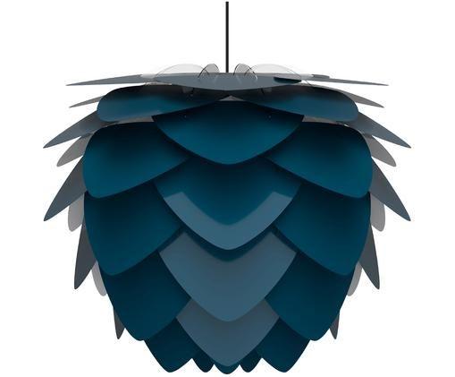 Lampada a sospensione a LED Aluvia, Blu