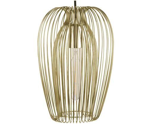 Lámpara de techo estilo escandinavo Lucid, Dorado amarillente