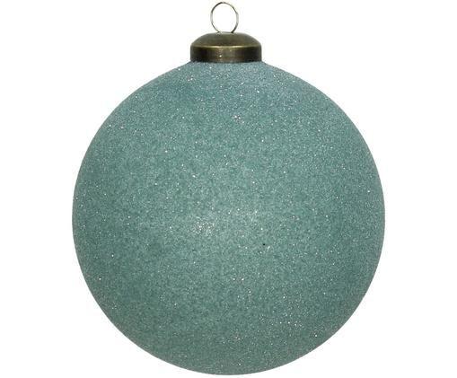 Palline di Natale Bend, 2 pz., Turchese