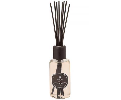 Ambientador Aromatherapy (hierba de limón y menta), Transparente, blanco, negro