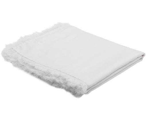 Tovaglia in lino Lucka, Bianco