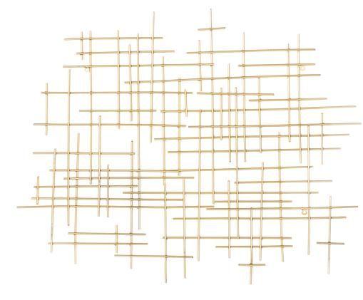 Dekoracja ścienna Libra, Odcienie złotego