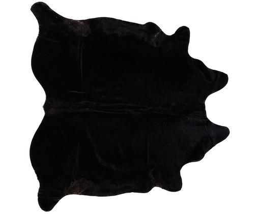 Tapis en peau de vache Thunder, Noir