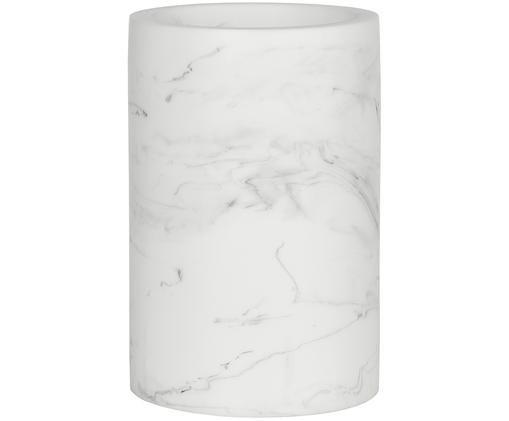 Tazza per lo spazzolino Swan, Bianco marmorizzato