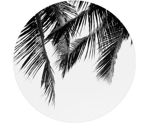 Stampa digitale su legno The Palms, Nero, bianco