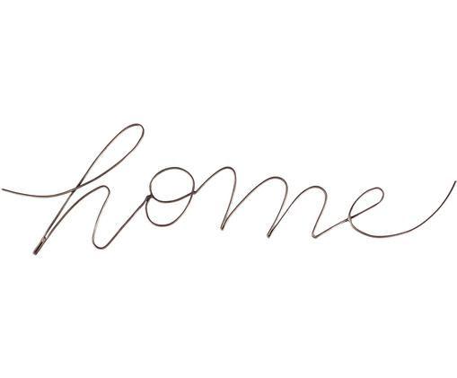 Dekoracja ścienna Home, Mosiądz