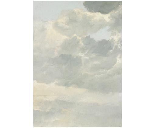 Fototapete Golden Age Clouds, Grau, Beige, matt