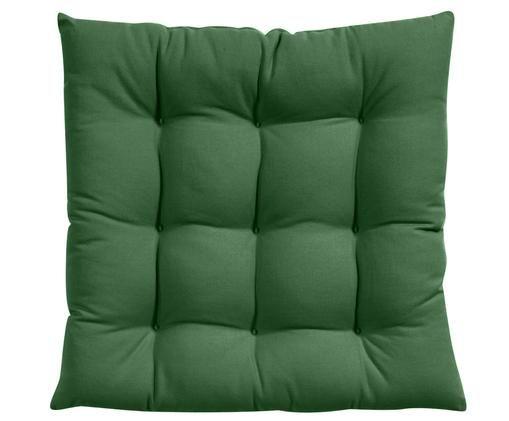Cojín de asiento Ava, Verde oscuro