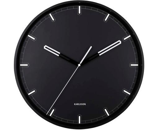 Horloge murale Dipped, Noir, blanc