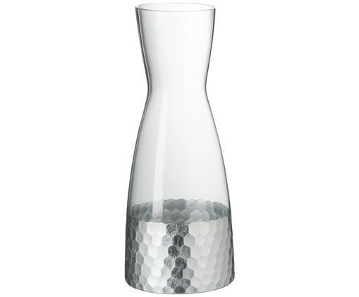 Caraffa Wasp, Trasparente, argento-grigio