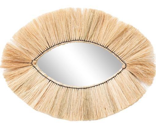 Specchio da parete fatto a mano Makula Eye, Alghe