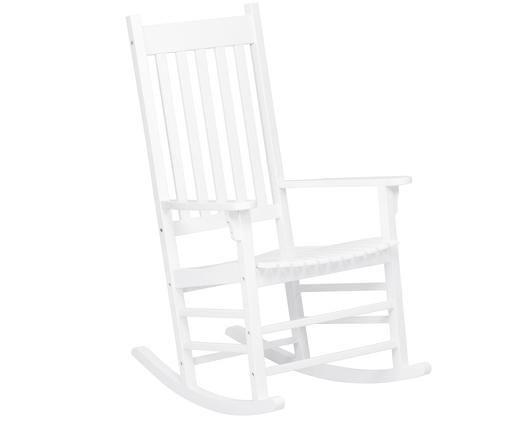 Bujane krzesło ogrodowe  Bay, Biały