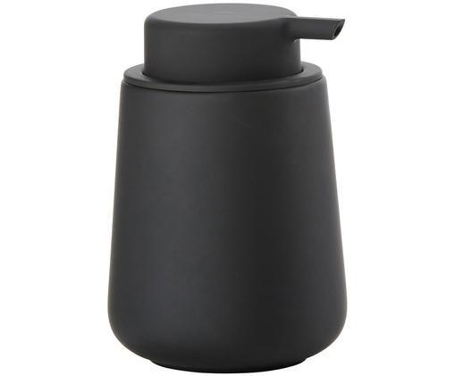 Dosatore per sapone Push, Nero opaco
