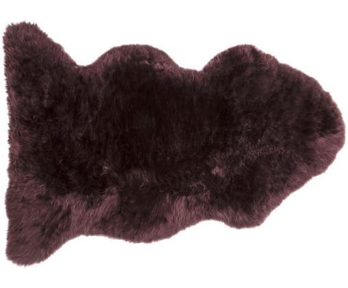 Fourrure de mouton Luna, Pourpre