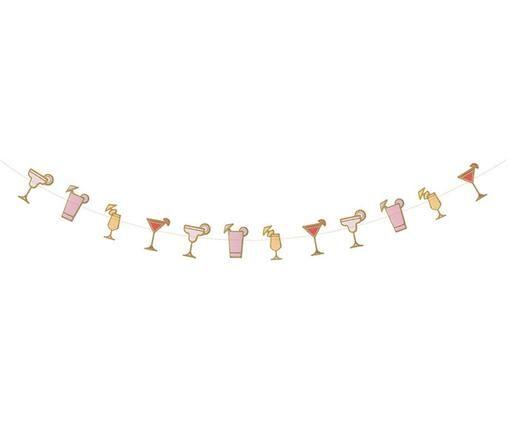 Slinger Cocktail, Roze, oranje, rood, goudkleurig