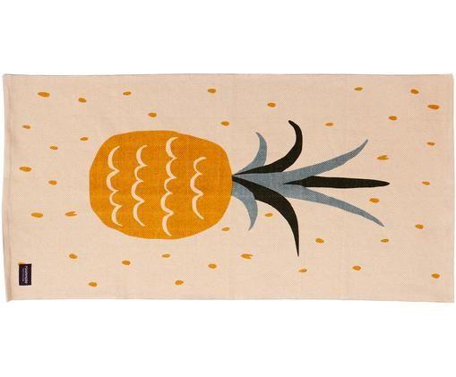 Teppich Pineapple, Gebrochenes Weiß