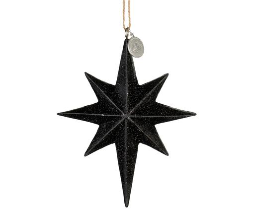 Baumanhänger Serafina Star, Schwarz