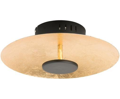 LED Deckenleuchte Spot, Außenseite: Schwarz Innenseite: Goldfarben