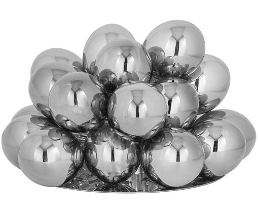 Glaskugel-Tischleuchte Gross, Chrom