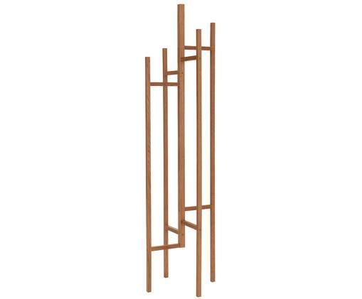 Moderne Garderobe Eigen mit 5 Haken, Eichenholz