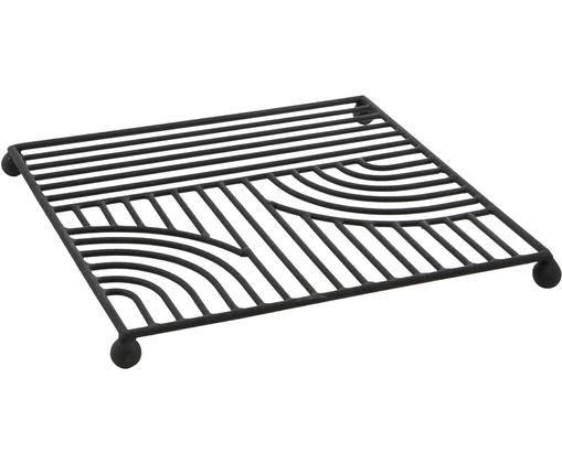 Topfuntersetzer Maze, Schwarz