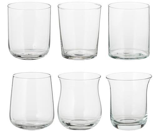 Komplet szklanek do wody Desigual, 6 elem., Transparentny