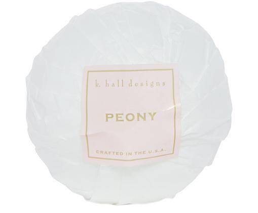 Badbruisbal Peony (bloemengeur), Wit