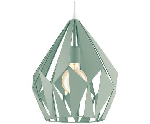 Lampa wisząca Carlton, Jasny zielony