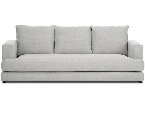 Sofa Tribeca (3-Sitzer), Bezug: GrauFüße: Schwarz