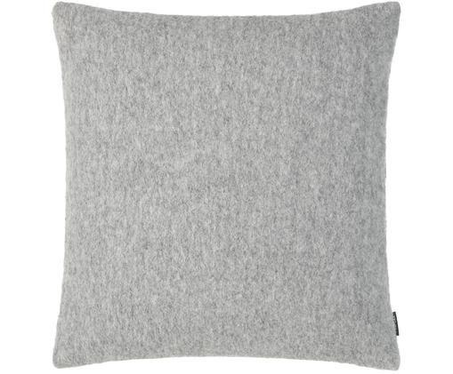 Federa arredo in feltro di lana Now, Grigio chiaro