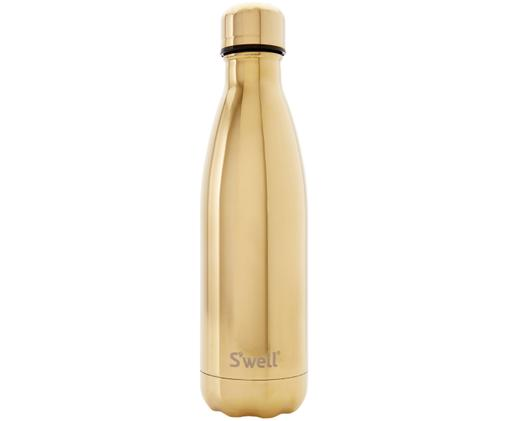 Isolierflasche Bottle, Goldfarben, Edelstahl