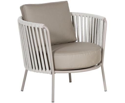 Outdoor fauteuil  Sunderland, Taupe, lichttaupe