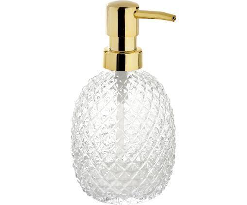 Dozownik do mydła Diamond, Transparentny