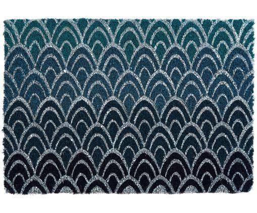 Zerbino Peacock, Blu scuro, grigio