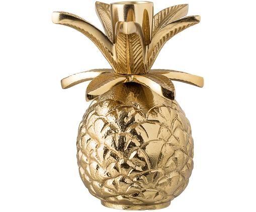 Kandelaar Pineapple, Goudkleurig