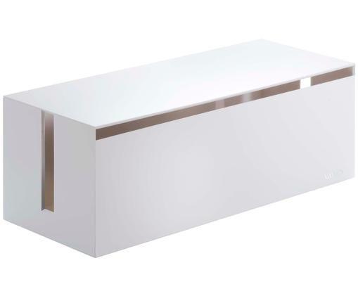 Boîte gestion des câbles Box Web, Blanc