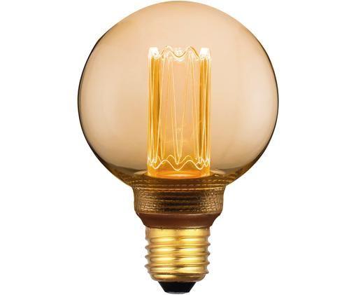 Bombilla LED Colors Mini Globe (E27/5W), Ámbar, transparente