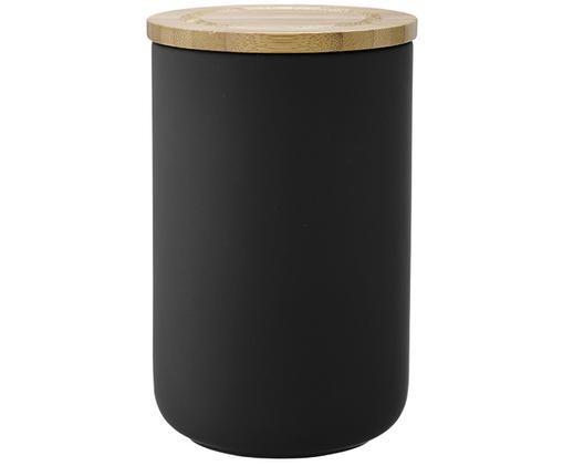 Aufbewahrungsdose Stak, Czarny, drewno bambusowe