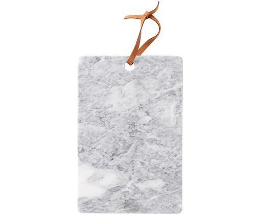 Tagliere in marmo Bardi, Grigio chiaro marmorizzato