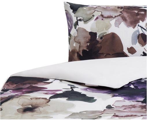 Housse de couette réversible en coton Sunset, Multicolore