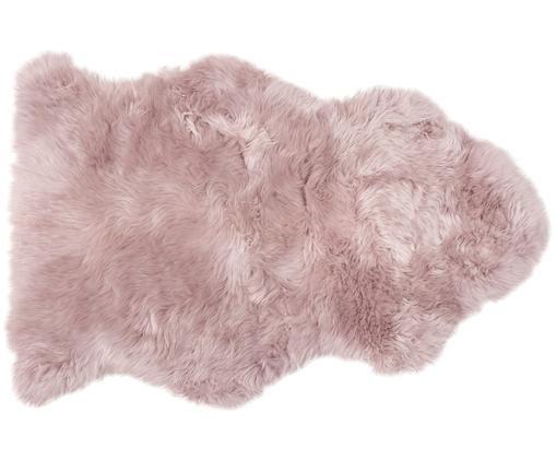 Pelliccia di pecora Oslo, liscia, Rosa