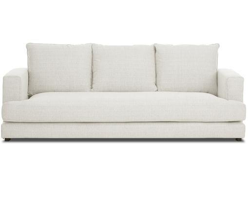 Sofa Tribeca (3-osobowa), Tapicerka: beżowy Nogi: czarny